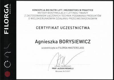 Certyfikat 2017.10.06- Warsztaty Filorga