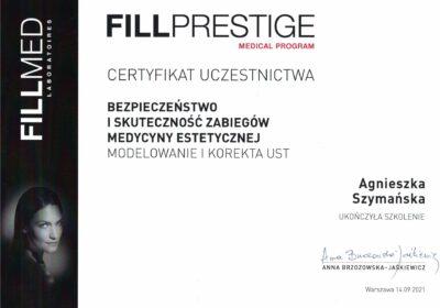Certyfikat 2021.09.14 - Modelowanie i korekta ust